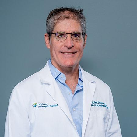 Dr. Steve Fraser smiling